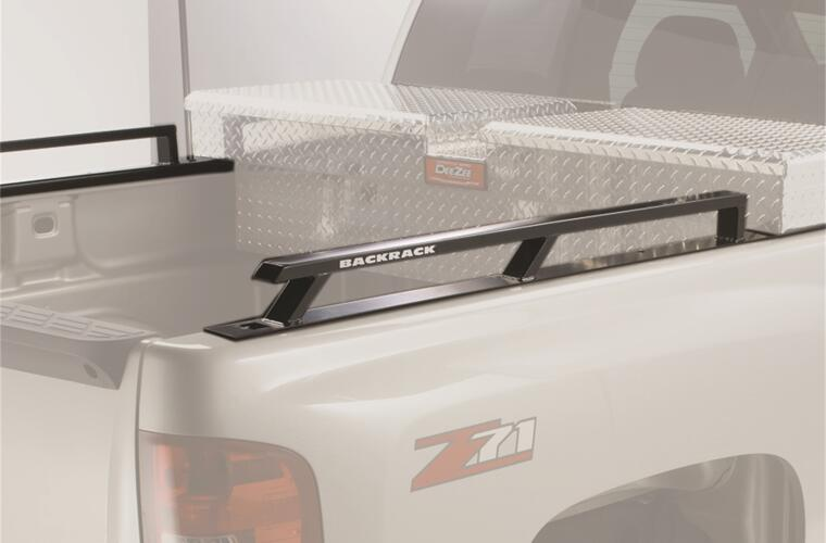 Side Rails; For Use w/Tool Box 21 in.; 6.5 Ft. Bed; 99-07 Chevy/GMC Classic